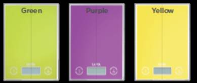 Colorful Electronic kitchen scale