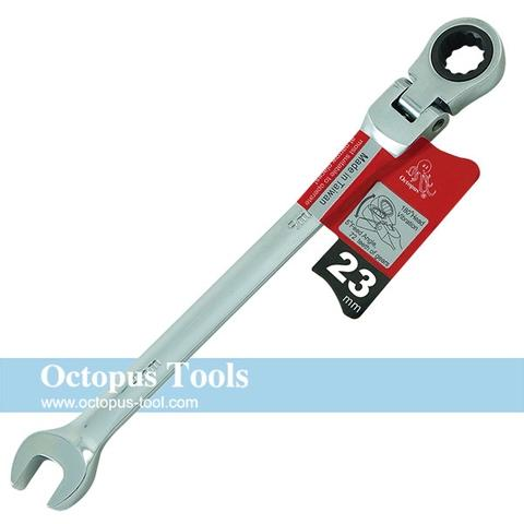 Flex Head Combination Ratcheting Wrench 23mm