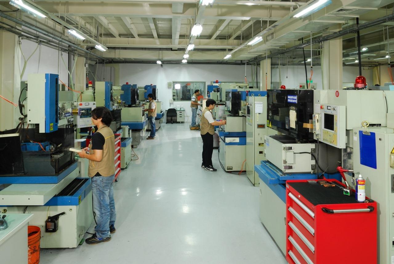 CNC wire cutting dept