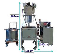 Soybean sauce stews cooling machine