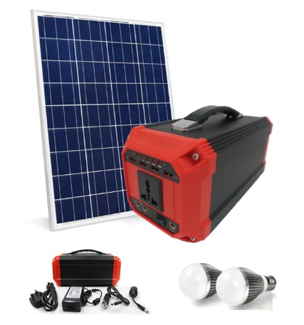 Portable Solar Power Generator ( Lithium Battery )