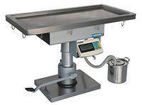 Veterinary Manual Operating Table with weighing scale REXMED RVT-150