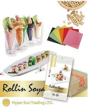 Rollin Soya (Soy Bean Sheet, Soy Wrap, Mamenori)