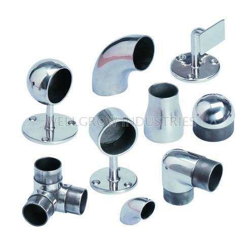Stainless Steel Handrail Fittings, Railing Fittings
