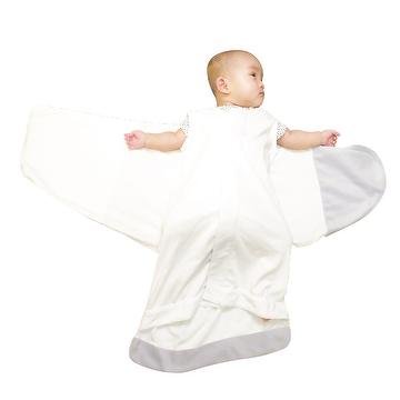 Velcro-free and Button-free Infant Swaddle Blanket