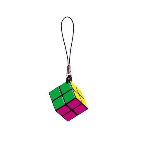 2x2x2 迷你二階吊飾魔術方塊 (手機繩)