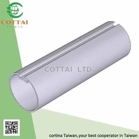 Taiwan COTTAI Aluminum Extrusion for roller tube roller