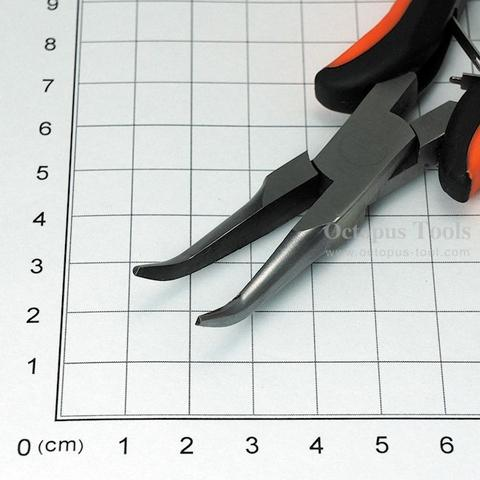 "Bent Nose Pliers 5.7"", 8.0mm Thickness"