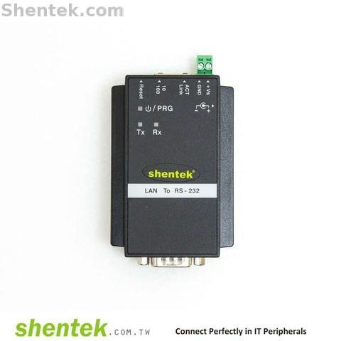 Shentek Serial RS232 Ethernet Device Server