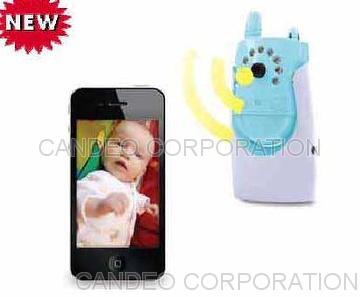 Wi-Fi i-Phone HD Baby Monitor work with Android Phone