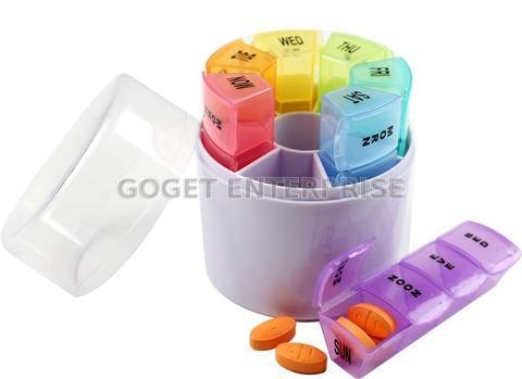 Taiwan Pill Organizer 7 Day, Medicine Box Pill Box Case