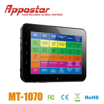 Appostar Mobile Terminal MT1070 Side View
