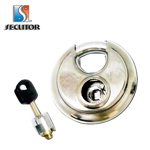 Brass Cylinder Removable Stainless Steel Disc Lock