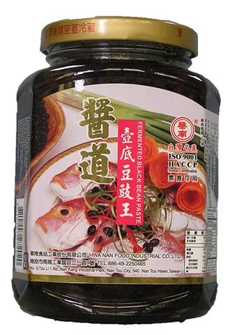 FRMENTED BLACK BEAN PASTE,agricultural foods chili sauce,