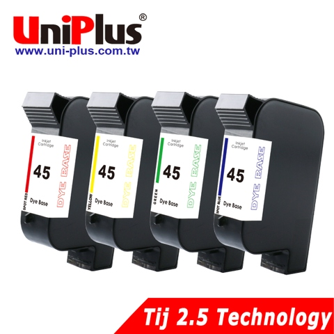 HP45 inkjet cartridge filled with color ink  (TIJ 2.5)