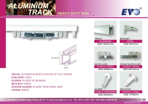 HEAVY DUTY RAIL
