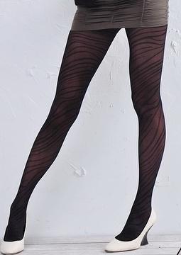 5bc5aea65ae3c Ladies Fashion Jacquard Tights,Stockings,Hosiery,Floral pattern tights---Tiger  stripes