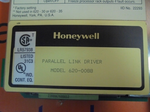 HONEYWELL Parallel link driver module 620-0088