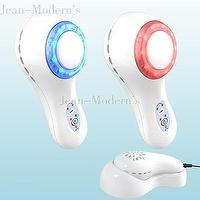 Cool/Hot Beauty Instrument Device With Blue/Red LED Light