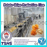 Hot Sale Continuous Professional Fresh Potato Crisp Machinery Equipment