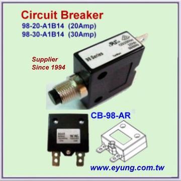 Taiwan Thermal Circuit Breaker Overload Current