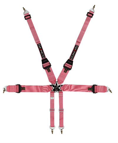 FIA SFI Six Point Racing Harness and Cam Buckle