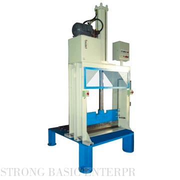 TS-905A RAW RUBBER CUTTING MACHINE (LARGE TYPE, WITH BASE, SPRING CUSHION)