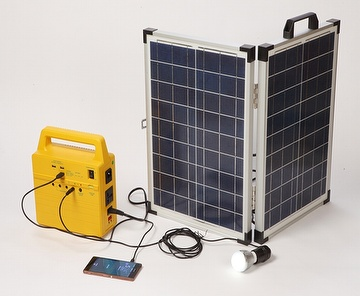 All-in-One Portable Solar Generator, Handy Solar System, solar system, solar generator, portable solar power system, solar power for homes, solar panel system