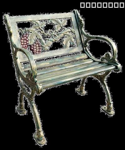 HC201 grape design bench