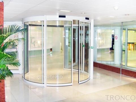 CURVED SLIDING DOOR
