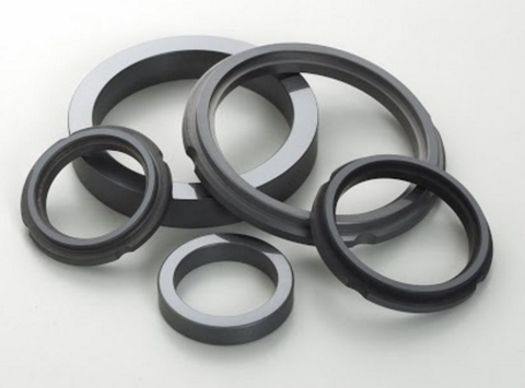 pump parts of sintered SiC tube