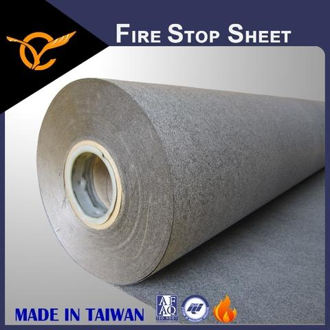 Multiple Uses Protect Safety Fire Rated Intumescent Sheet