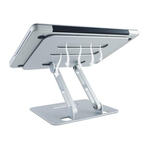 Z-Type Laptop Riser-Heat dissipation