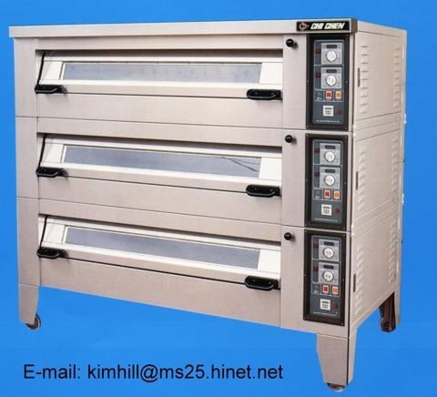 KB-303 AUTO ELECTRIC DECK OVEN
