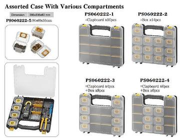 Assorted Case With Various Compartments