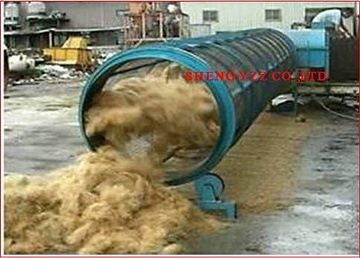 PALM COCONUT FIBER SEPARATING MACHINE