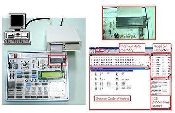 Taiwan 8051 MICROCOMPUTER TRAINER - for educational teaching
