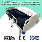 Digital 5'' zipper cover medical air mattress prevent anti-decubitus bedsore pressure ulcer