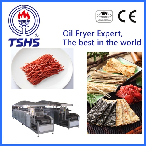 New Product Whole Automatic Industrial Fish Shred Machinery