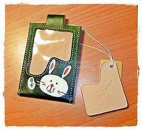 Bunny Card Storage Bag