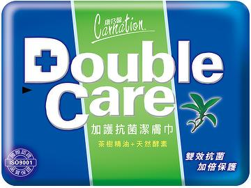 Double Care Wipes (Anti-bacterial)