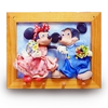 Mickey and  Minnie Air Dry Clay