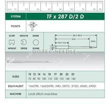 TFX287 D/2 D - Lock Stitch Machine Needle