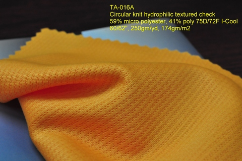 Sportswear Functional 100% Polyester Double Knit Fabric