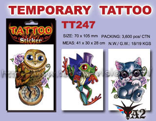 tattoo stickers, temorary tattoo, tattoo