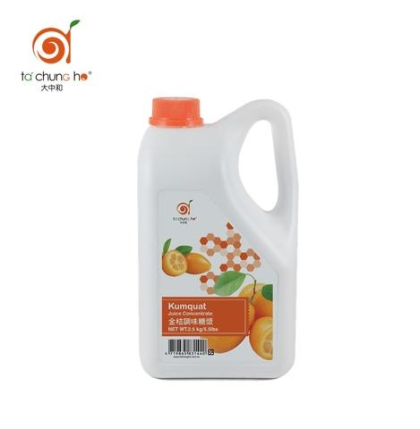 2018 New Product 2.5kg Kumquat Juice Concentrate