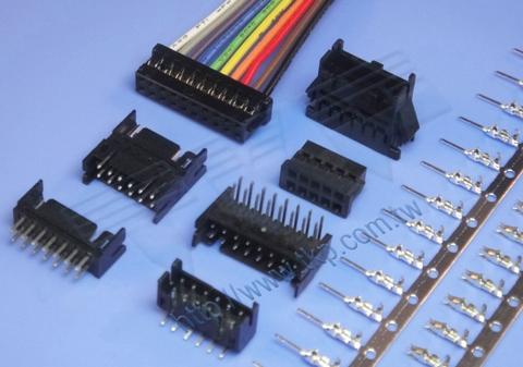 连接器 2.00MM - DH2 系列 双排 排针 线对板 连接器