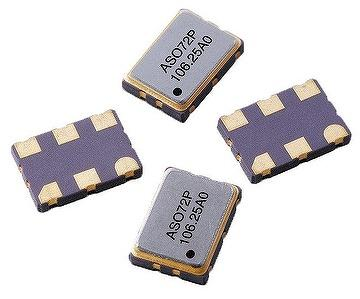 7x5mm SMD LVPECL Crystal Oscillator