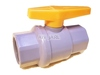 Plastic Ball Valve to open, adjust or close water