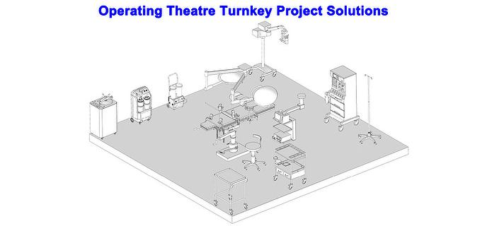 REXMED Operating Theatre Turnkey Project Solutions